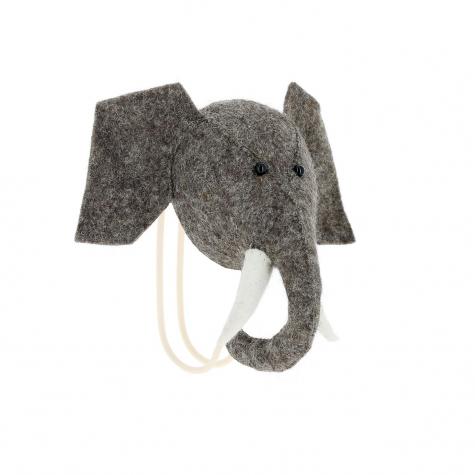 Big Single Elephant Head Hook