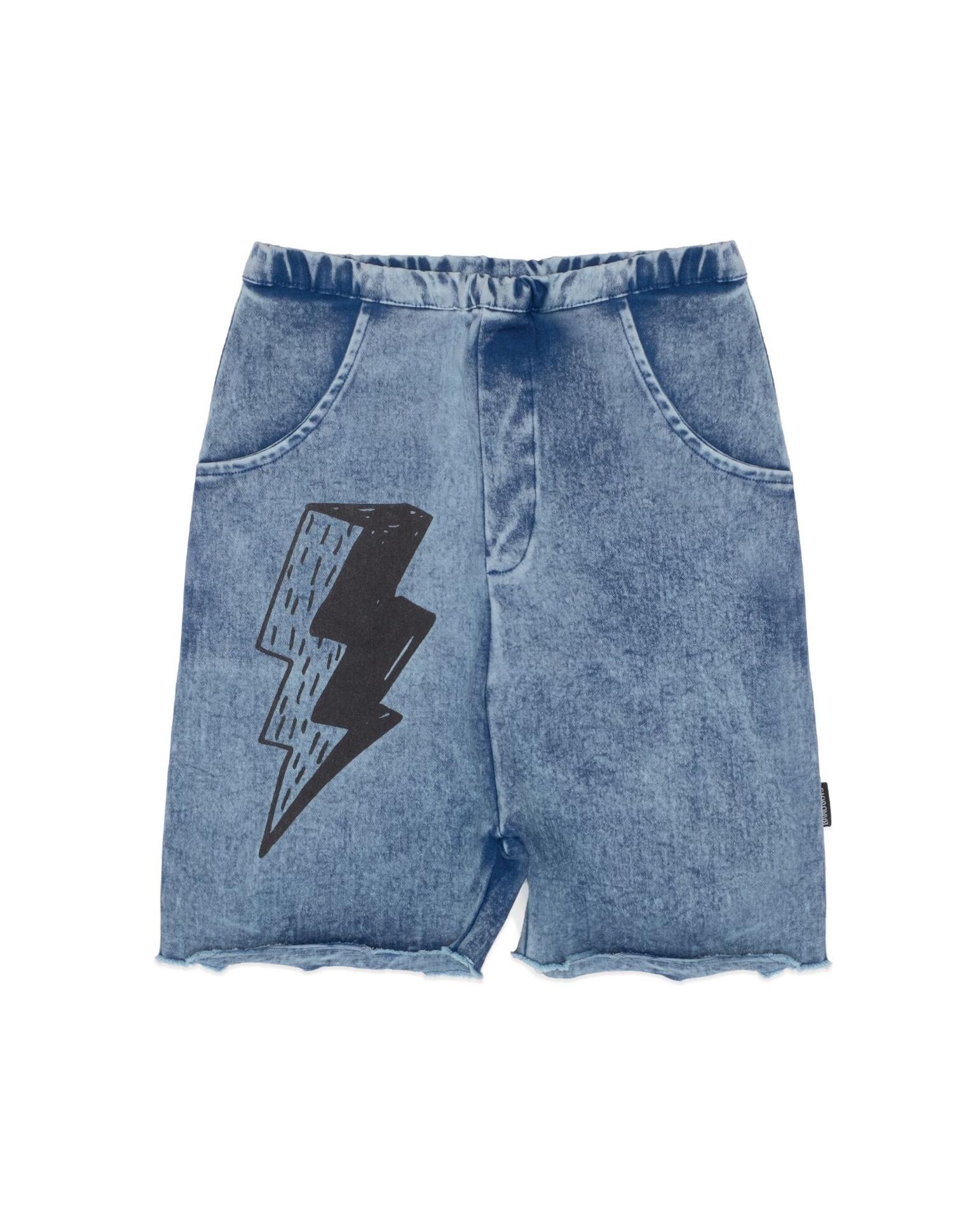 BOB Lightening Vintage Blue Denim Shorts