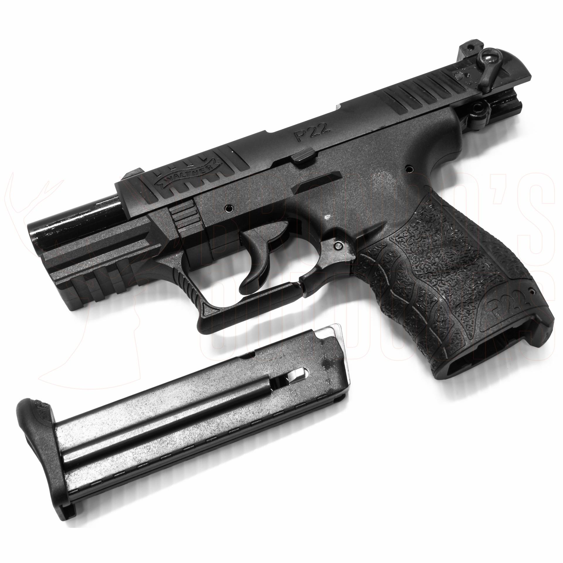 Umarex Walther P22Q 9mm Blank Pistol