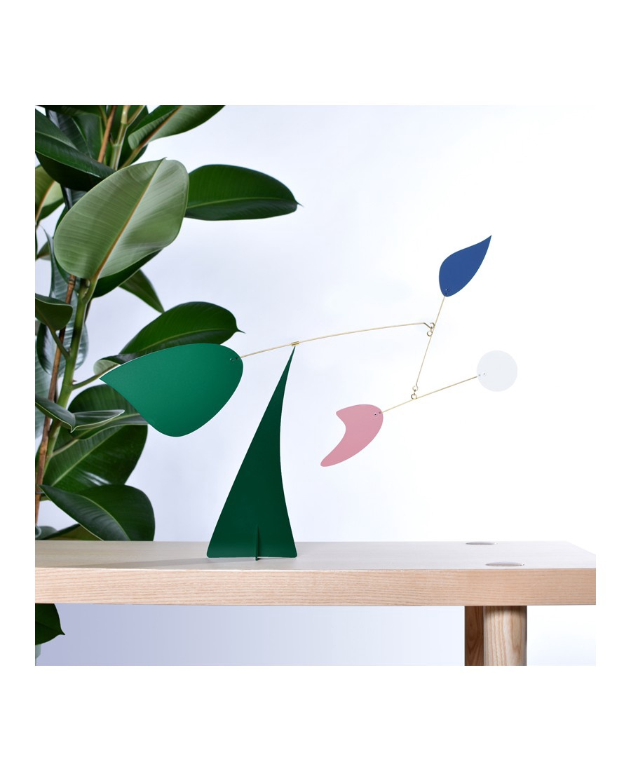 Colorful Leaves Standing Mobile