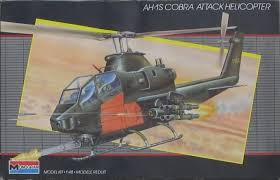 Monogram #5444 1/48 AH-1S Cobra Attack Helicopter