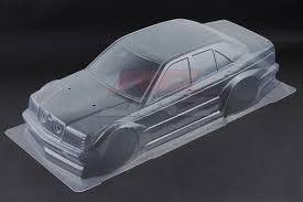 Tamiya #1/10 Mercedes  Benz Zakspeed Bodyshell