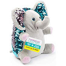 MINI SEQUIN PETS TWINKLES THE ELEPHANT
