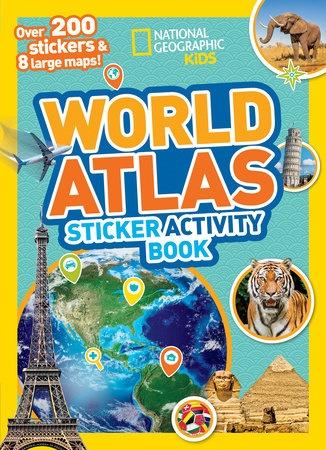 NGK WORLD ATLAS STICKER ACTIVITY BOOK
