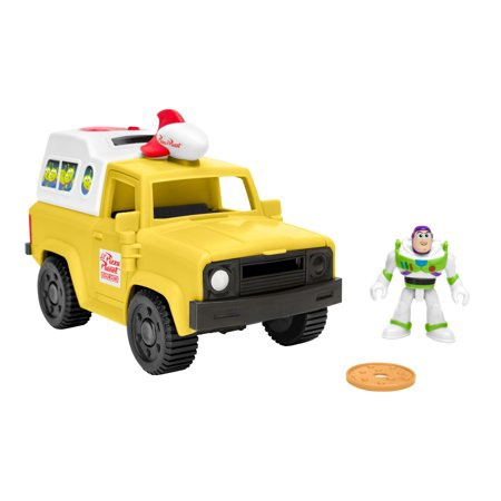 TOY STORY BUZZ & PIZZA TRUCK