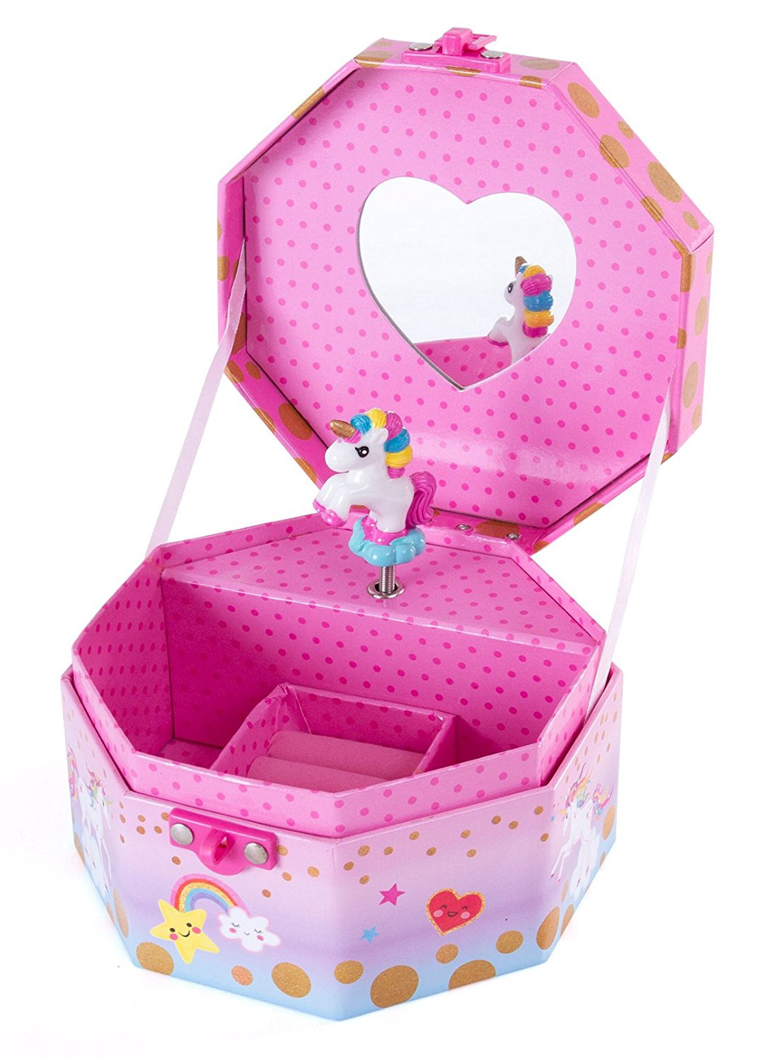 MUSICAL JEWELRY BOX UNICORN