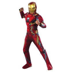 MARVEL AVENGERS INFINITY WAR IRON MAN -SIZE M 5-7 YEARS