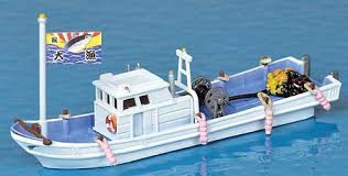 TomyTec #282068 N Fishing Boat Kit
