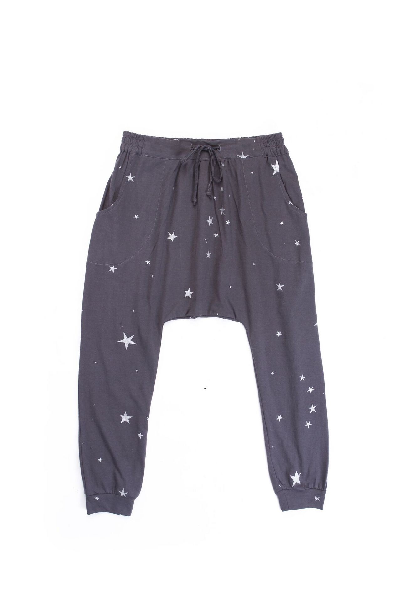 Alex and Ant Star Drop Pant Charcoal