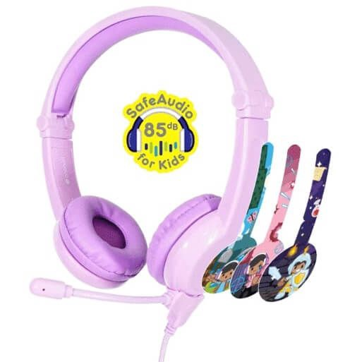 BUDDYPHONES GALAXY PURPLE