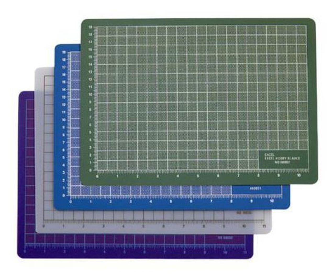 ProEdge #P66621 Self Healing Cutting Mat: Clear 8''x12''