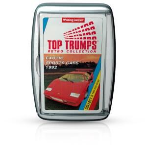 TOP TRUMPS EXOTIC SPORTS CARS 1992