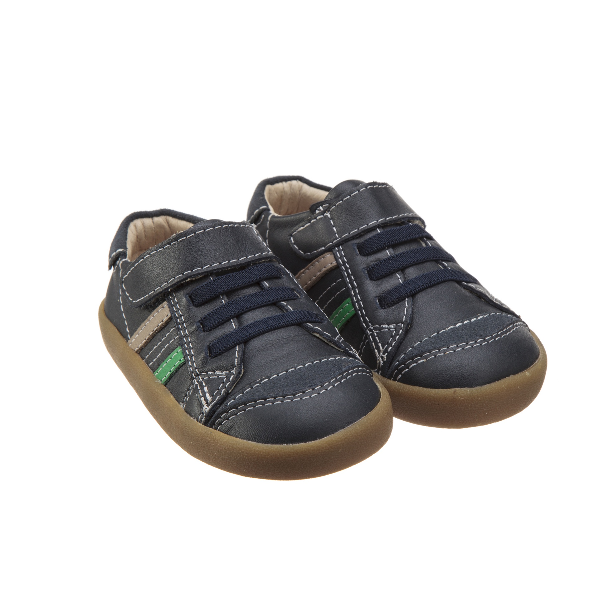 Old Soles Denzle Up Navy Green Taupe