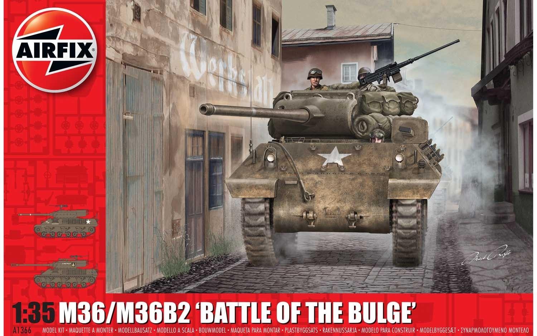 Airfix #A1366   1/35.   M35/M35B2 'Battle of the Bulge