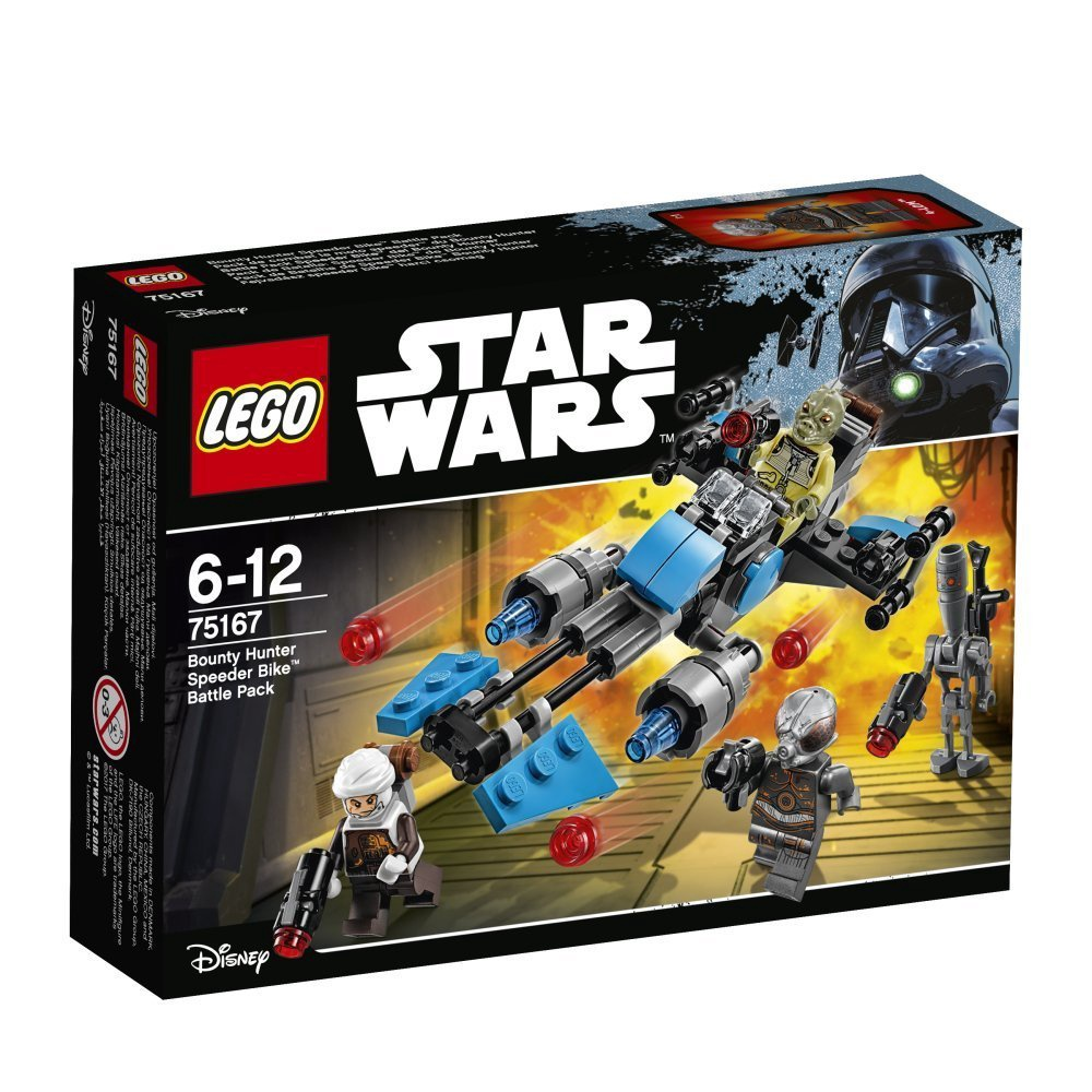 LEGO STAR WARS BOUNTY HUNTER SPEEDER BIKE