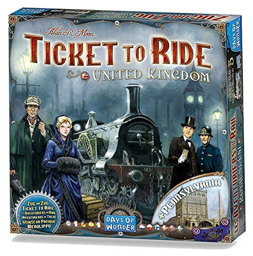 TICKET TO RIDE UK COLLECTION 5