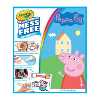 CRAYOLA COLOR WONDER MARKERS PEPPA PIG