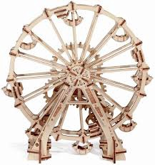MECHANICAL MODEL WOOD TRICK OBSERVATION WHEEL