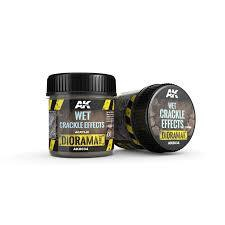 AK Interactive #AK8034 Diorama Wet Crackle Effects 100ml