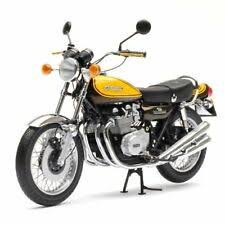 Aoshima #5531 1/12 1973 Kawasaki 900 Super4 Z1