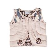 FALLING LEAVES QUILTED VEST