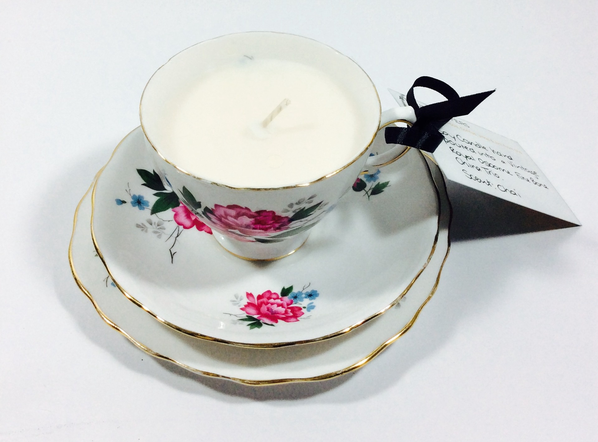 Vintage Tea Cup Candle - Royal Osborne Cup only- Chai