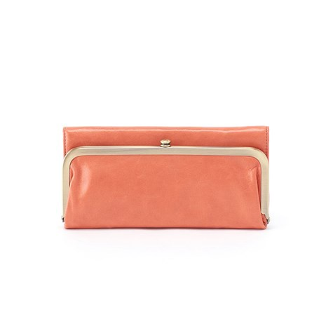 HOBO - RACHEL WALLET IN DUSTY CORAL