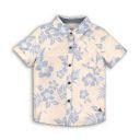All Over Print Linen Shirt