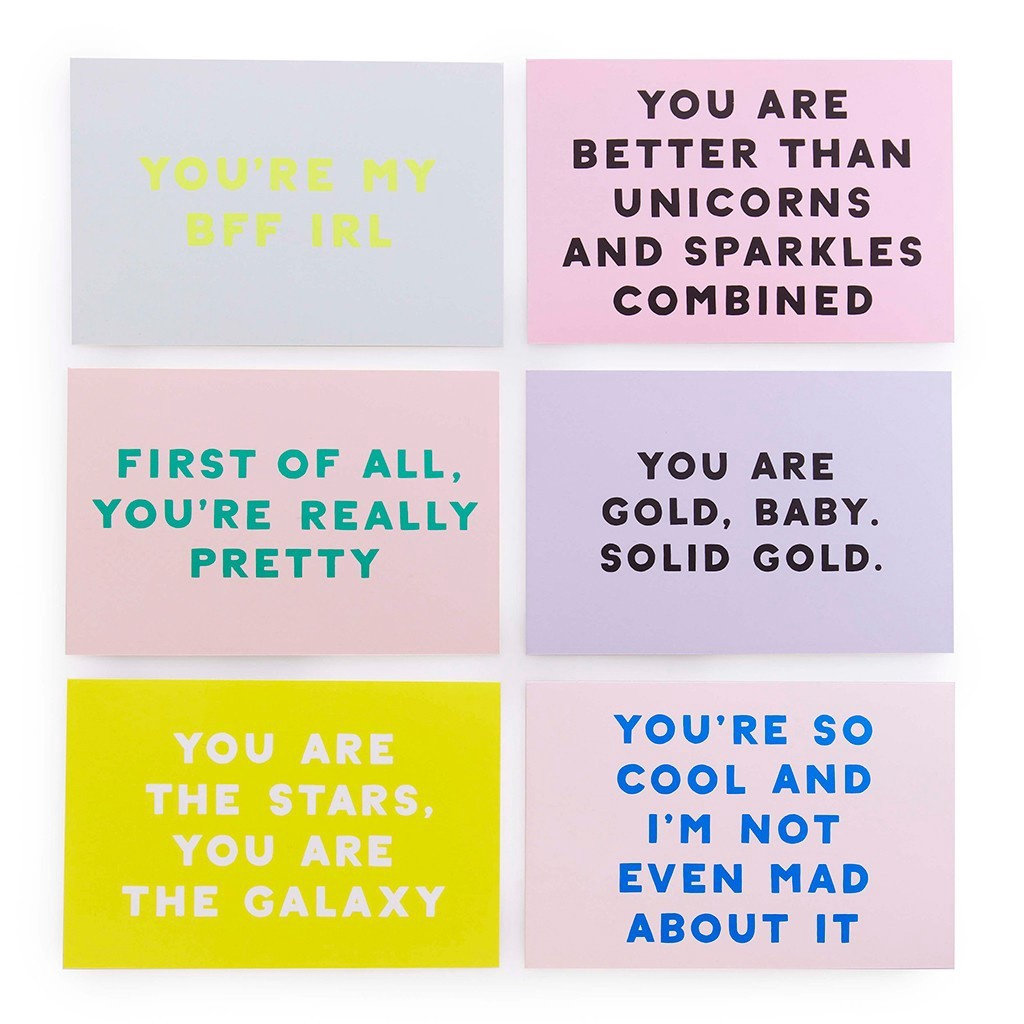 Compliment Postcard Set