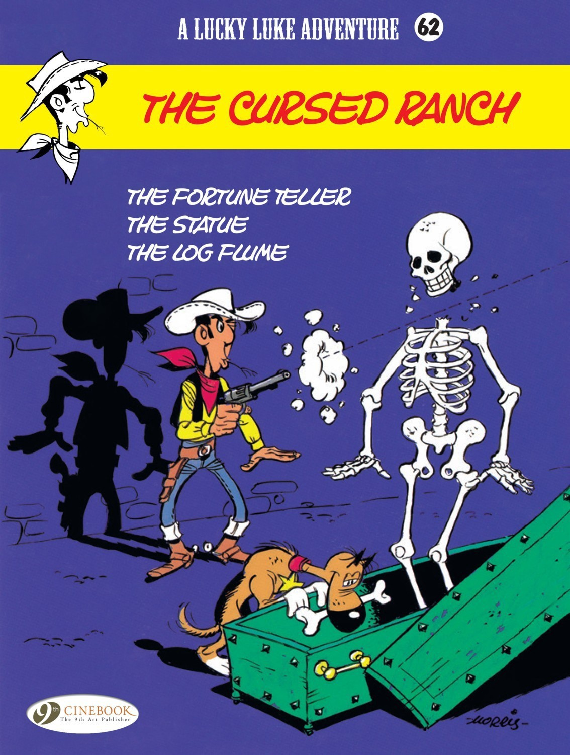 Lucky Luke #62 - The Cursed Ranch