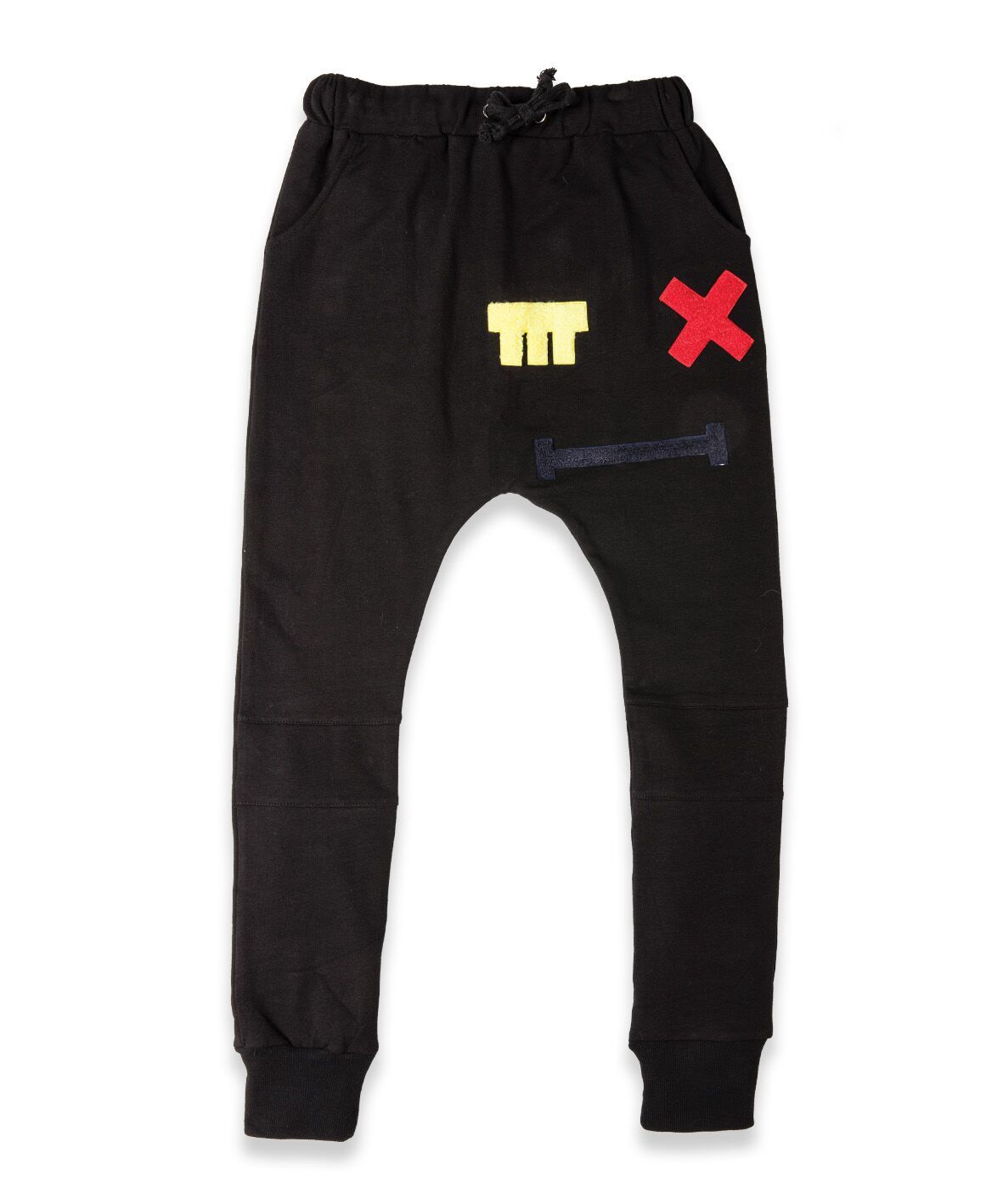 BOB Trackies Cross Eye Patch Black
