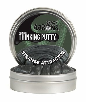 CRAZY AARON'S THINKING PUTTY STRANGE ATTRACTOR 4 INCH