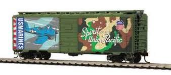 MTH Trains #85-74161 40' PS-1 Box Car (Union Pacific Marines)