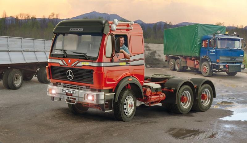 Italeri #3943 1/24 Mercedes Benz 2238 6 x 4