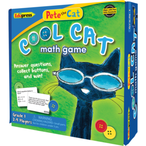 EP 63531 PETE THE CAT COOL CAT MATH GAME GRADE 1