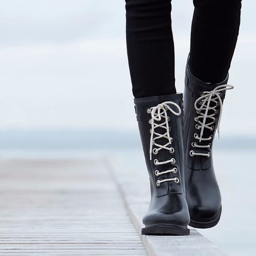 Ilse Jacobsen Rubber Boots Black