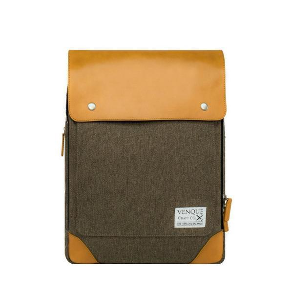 VENQUE - FLAT MINI IN BROWN