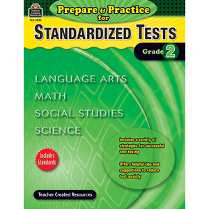 X TCR 2892 PREPARE AND PRACTICE FOR STANDARDIZED TESTS GRADE 2