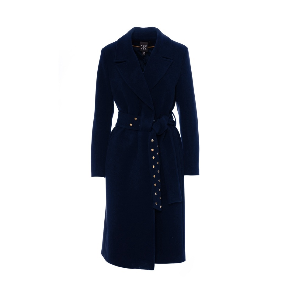 Access Stud Overcoat