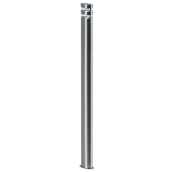 Radian bollard IP44 1.5W daylight white floor - polished stainless steel