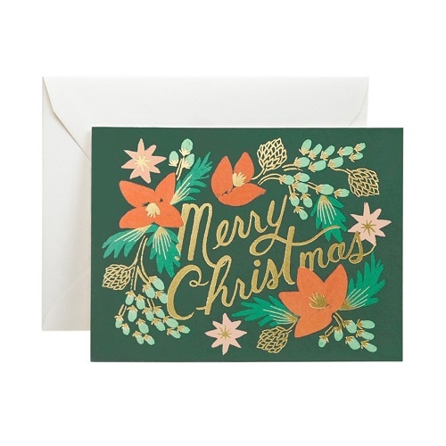 Wintergreen Christmas Boxed Card Set