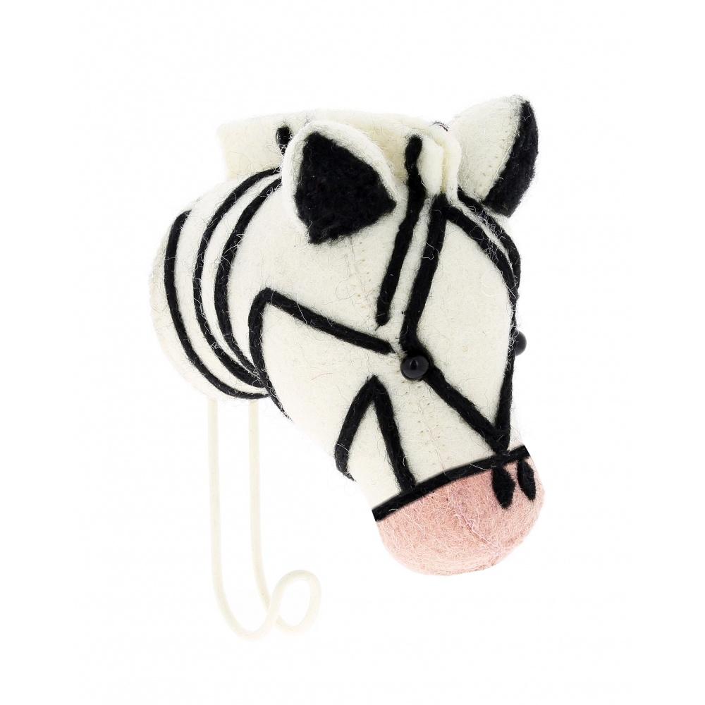 Big Single Zebra Hook Pink Nose