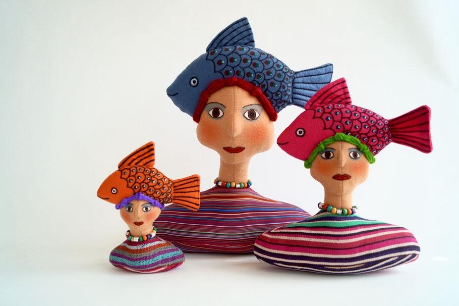 Fish Hat lady