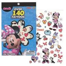 MINNIE 4 SHEET TATTOO BOOK