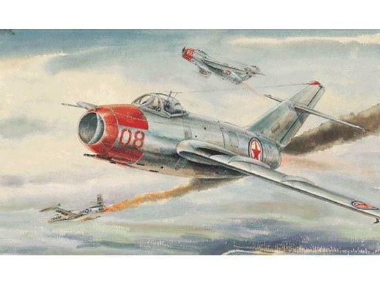 Trumpeter #02806 1/48 MiG -15 Fagot-B