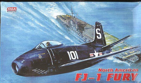 Siga Model 72-011 1/72 North American FJ-1 Fury