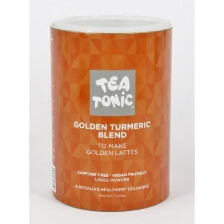 TEA TONIC GOLDEN TURMERIC BLEND TUBE