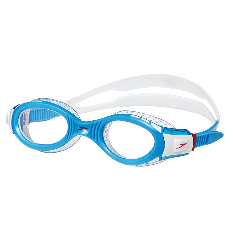 Junior Futura Biofuse Flexiseal Goggles White/Turquoise