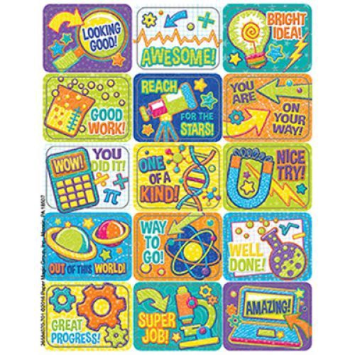 EU 658407 COLOR MY WORLD STEM STICKERS