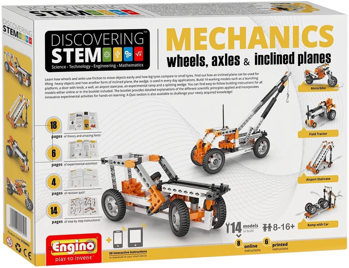 STEM MECHANICS WHEELS AXLES AND INCLINED PLANES